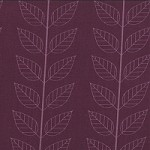 Leafy Stripe in Eggplant - V and Co. - Simply Color
