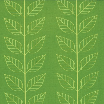 Leafy Stripe in Lime Green - V and Co. - Simply Color